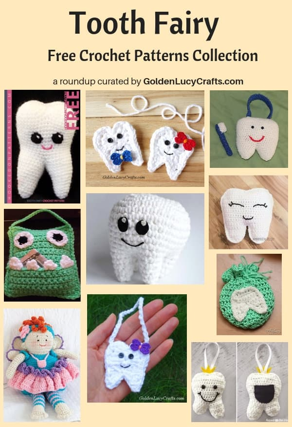 Crochet Tooth Fairy Free Crochet Patterns Collection Goldenlucycrafts