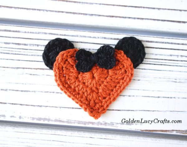 Crochet Halloween Minnie Pumpkin