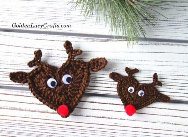 Crochet Reindeer free crochet pattern