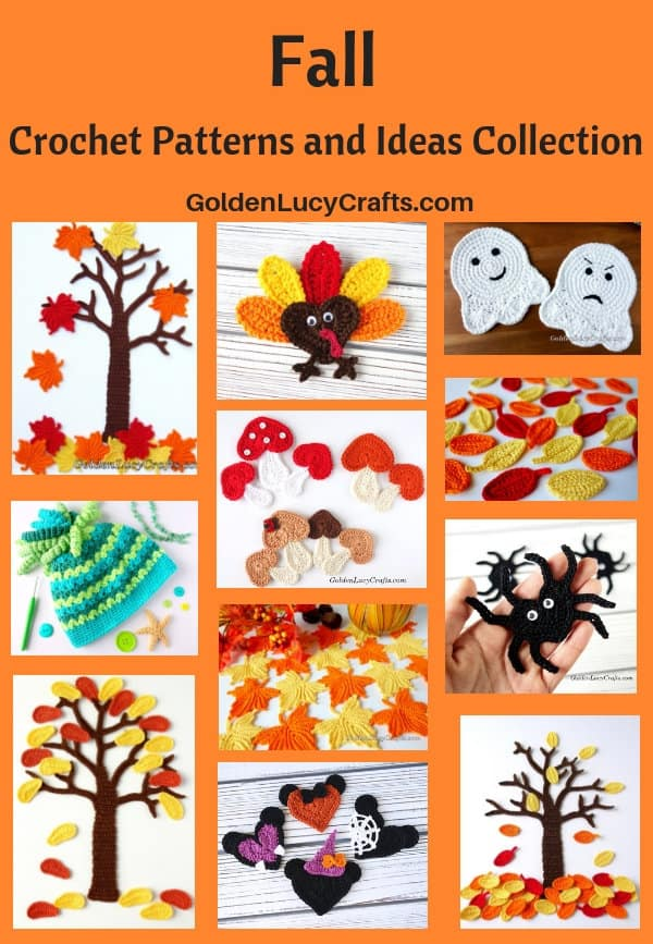 Fall crochet patterns and ideas collection