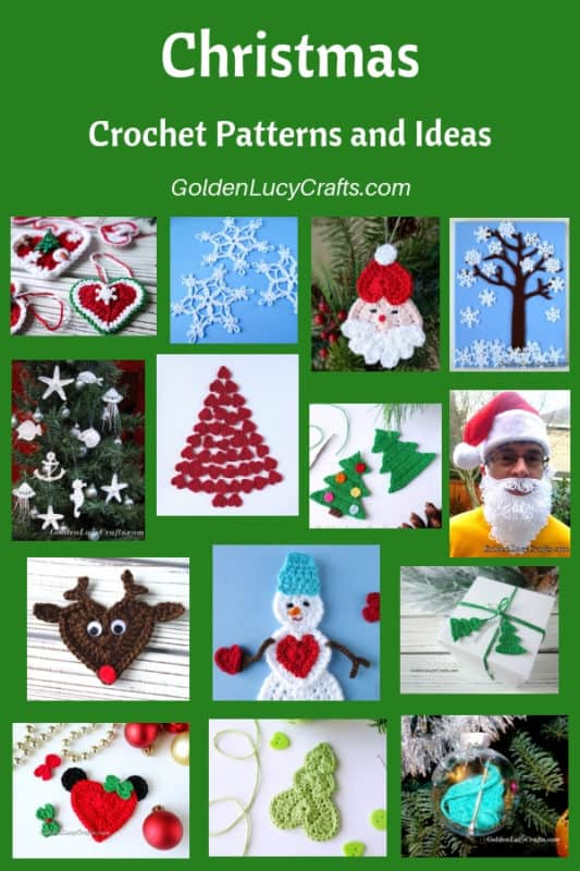 Christmas crochet patterns and ideas