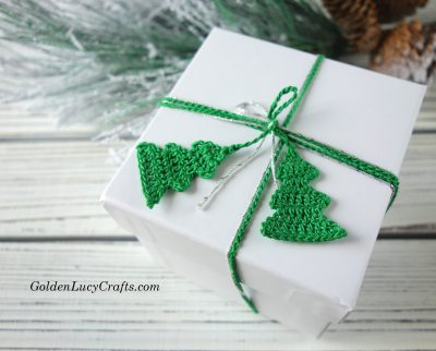 Christmas gift wrapping ribbon idea