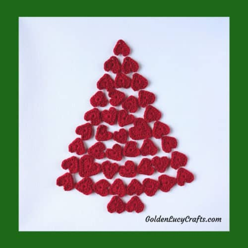 Christmas wall decor, Christmas tree wall art