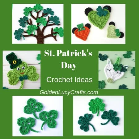 Crochet ideas St. Patrick's day