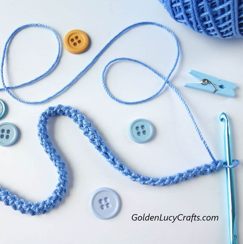 How to crochet a Romanian Cord