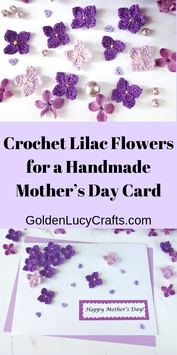 Lilac crochet pattern free