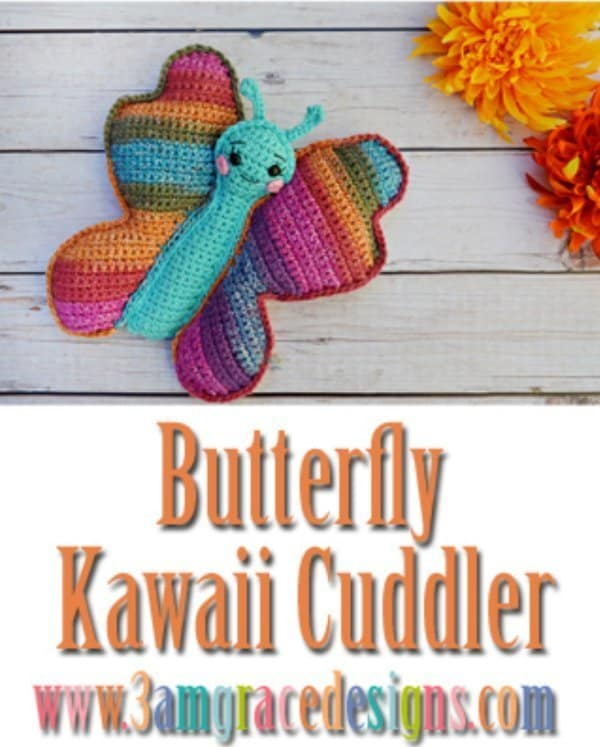 Butterfly crochet -part of butterfly free patterns collection