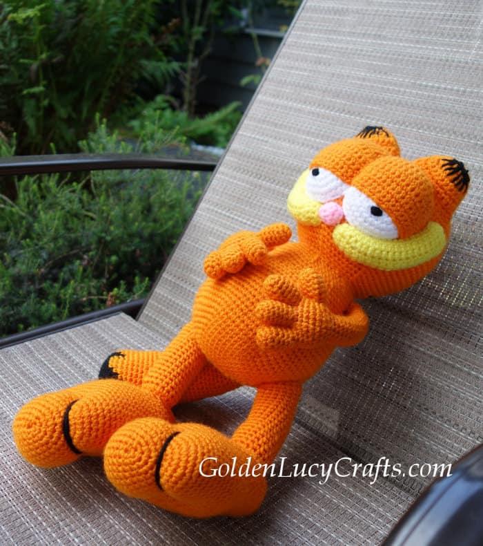 Garfield crochet pattern
