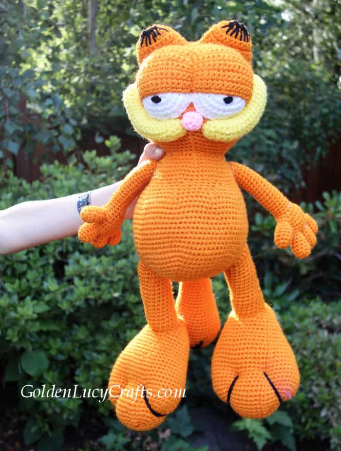 Garfield crochet pattern
