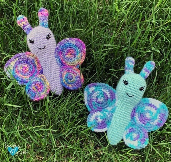 Crochet butterflies - part of butterfly free patterns collection