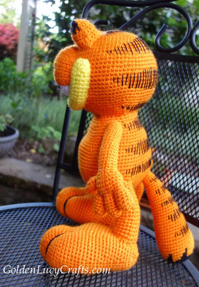 Crochet Garfield