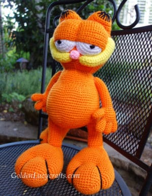 Crochet Garfield