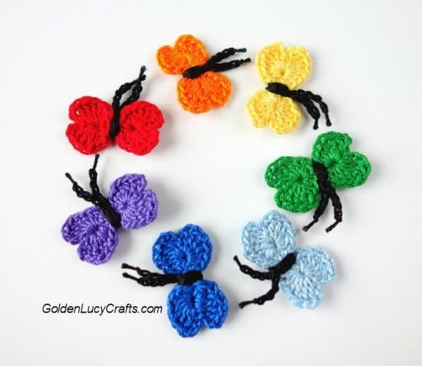 Tiny butterflies - part of butterfly free patterns collection