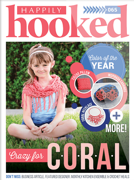 Crochet Happily Hooked magazine