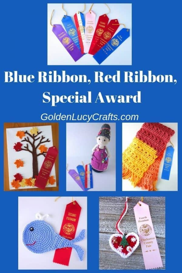 Blue ribbon winning crochet designs, prize winning