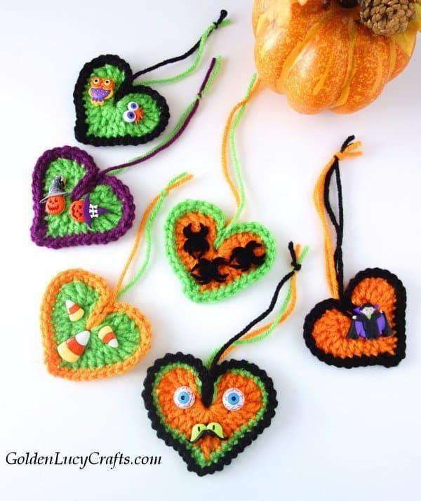 Halloween decorations, ornaments