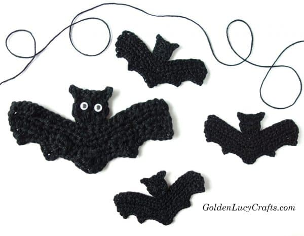 Crochet Bat free pattern