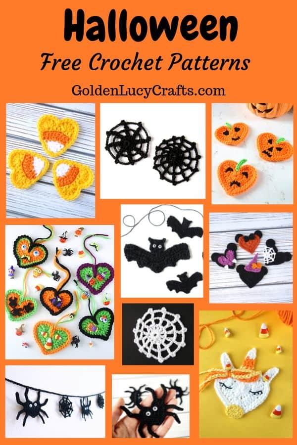 Crochet Halloween - free pattern collection