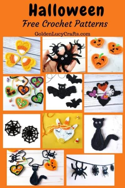 Halloween free crochet patterns