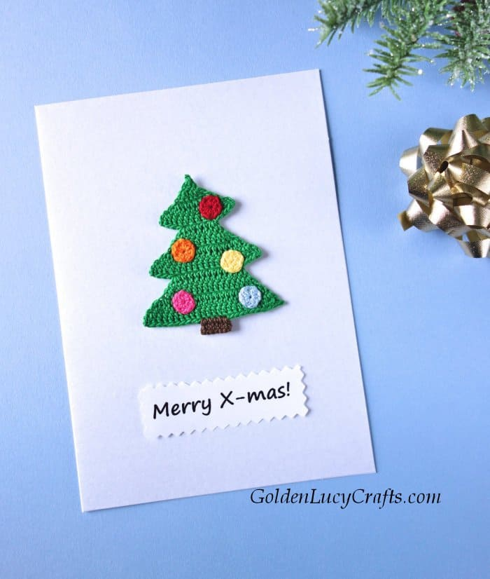 Diy Christmas card, handmade card ideas
