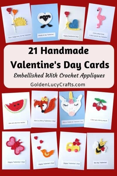 Handmade Valentine's Day cards ideas, DIY greting cards, cardmaking, Valentines Day crafts