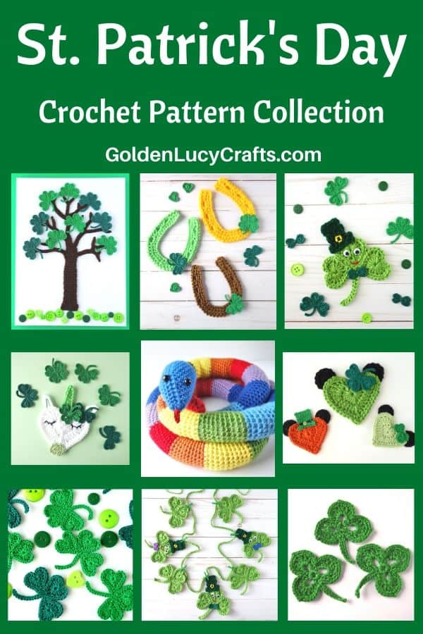 St Patrick's Day crochet patterns