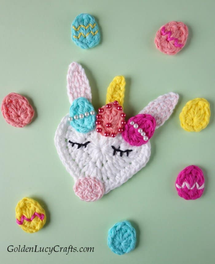 Easter crochet patterns, Easter unicorn