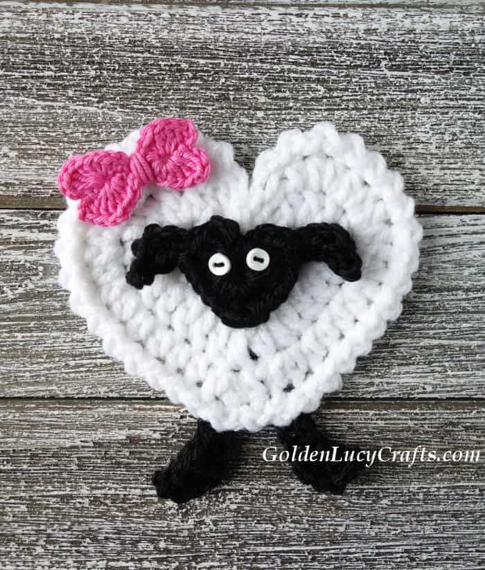 Easter crochet pattern collection, lamb, sheep applique