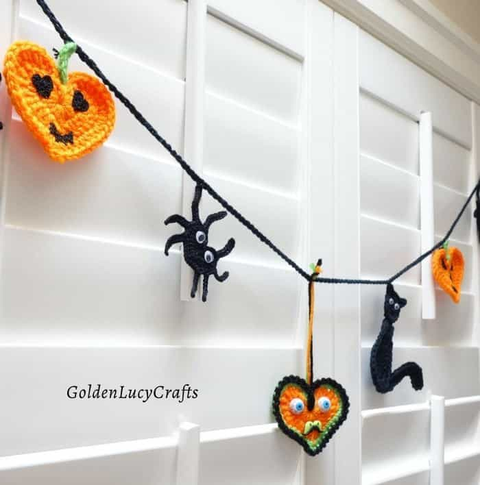 Crochet Halloween home decor