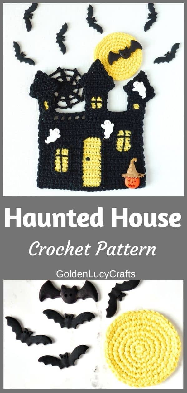 Crochet Haunted House Pattern